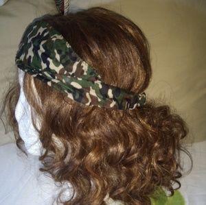 Camo printed headband
